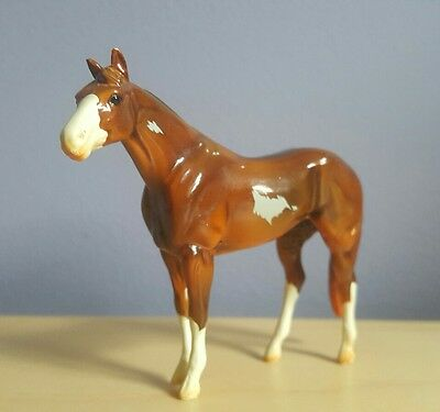 Red Dun Overo Stock Horse Peter Stone Chip