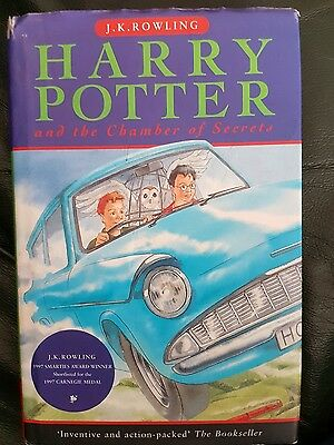 Hardback Harry Potter and the Chamber of Secrets (1998)