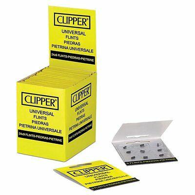 9x Large Clipper Universal Flints for Petrol Zippo Clipper Lighters HIGH QUALITY