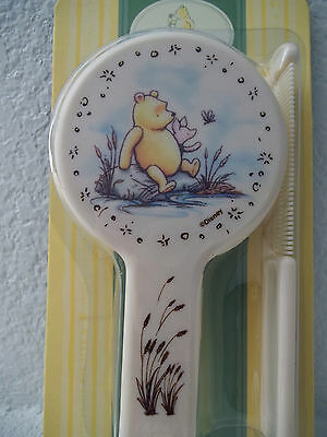 CLASSIC WINNIE THE POOH Winnie the Pooh Baby Infant BRUSH & COMB SET NEW