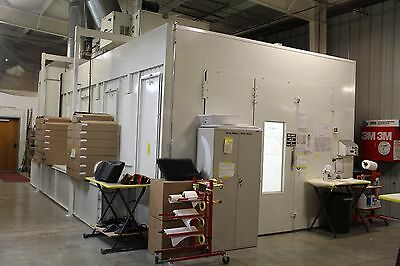 GFS 30 foot Down/Side Draft Spray Booth