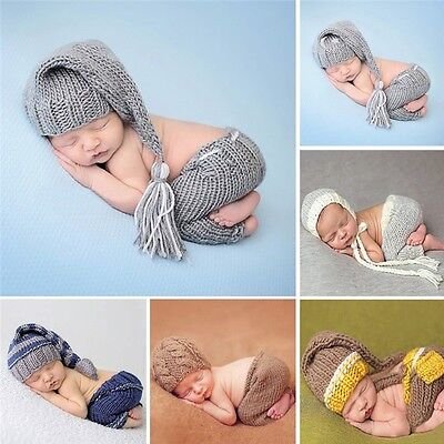 Newborn Baby Photography Props Baby Cute Outfits Costume 0-4 months