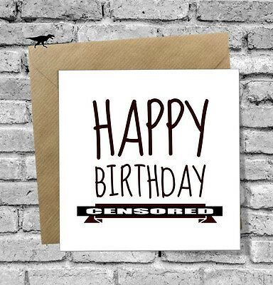 Greetings Card Happy 40th Birthday Funny Humour Comedy Best Friend