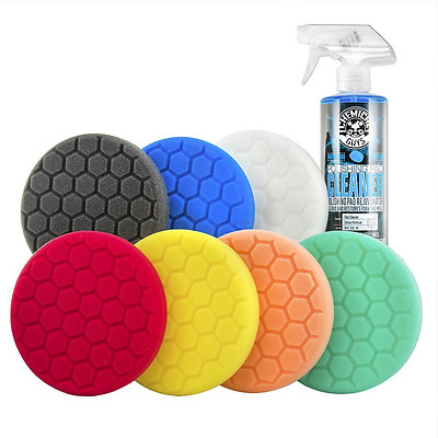 Chemical Guys BUF_HEXKITS_8P - Hex-Logic Buffing Pad Kit, 8 Piece (5.5 Inch)
