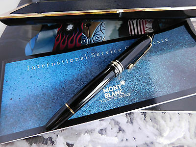 Montblanc Meisterstuck LeGrand 146 Fountain Pen Piston Filler (Broad nib)