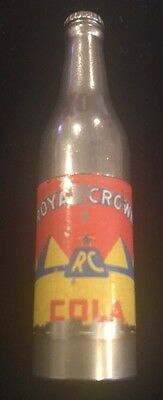 Vintage  Royal Crown Cola Miniature Bottle Cigarette Lighter