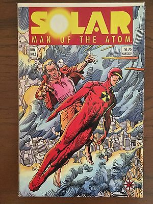 Solar Man of the Atom #3 1st Toyo Harada NM-