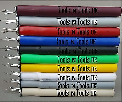 Knotting Tool Consistence Knots Beads Jewelry 10 Colours With Instructions Image