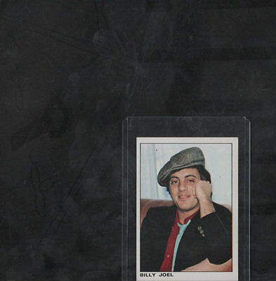 1980 BILLY JOEL Card Panini The Rock and Pop Collection # 103