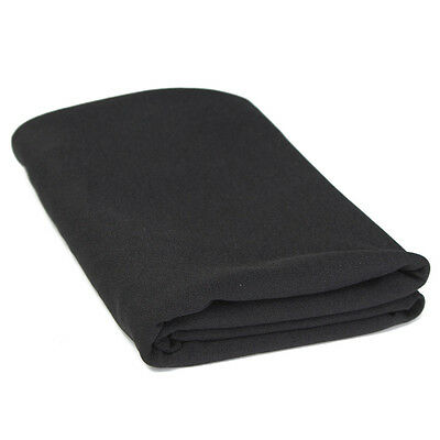 1.6Mx0.5M Cloth Black Speaker Grill Cloth Stereo Gille Fabric