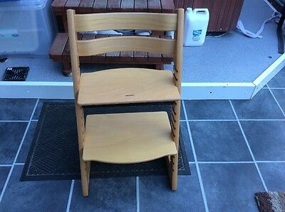 stokke tripp trapp high chair Very Well Used