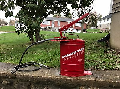 Shoring Box Speed Shore Hydraulic Pump NOS w/ Hose Trench Safety Construction