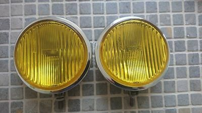 Bosch chrome yellow fog lamps fog lights Porsche 911 Mercedes w113 Pagoda w108