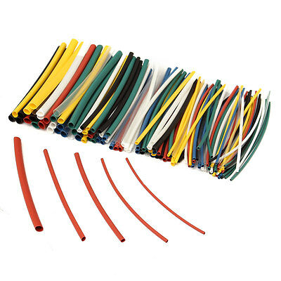 140Pcs Halogen-Free 2:1 Heat Shrink Tubing Wire Cable Sleeving
