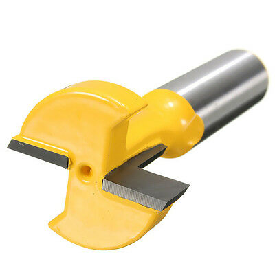 Straight T-Slot Router Bit 1/2 Inch Shank Carbide Wood Milling