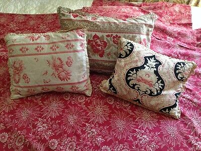 Antique Pillow Sale ~ Lovely, French ~ Rooms & Gardens (Santa Barbara)!