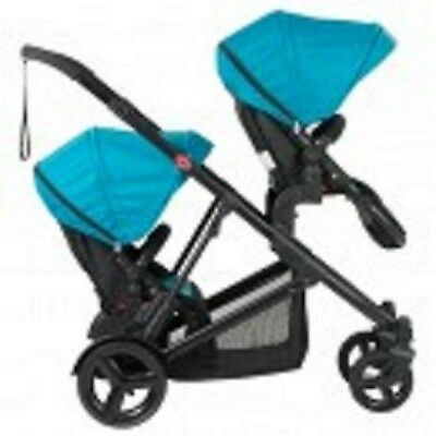 Safety 1st Envy  Pram Stroller and Second Seat