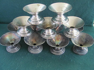 13 Antique Dated Vortex Sanitary Service Soda Fountain Ice Cream Cup Holders