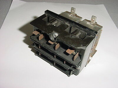 1 USED Struthers Dunn A275KXX Reversing Contactor 120VAC