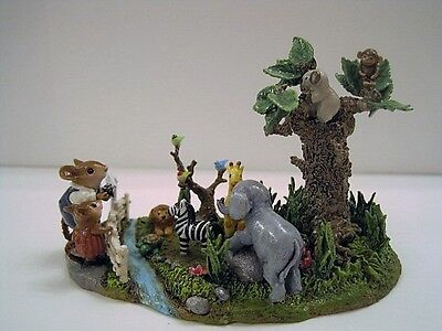 Wee Forest Folk-M-397v WEE ZOO First pc. in Creative Hands Exclusive ZOO Series
