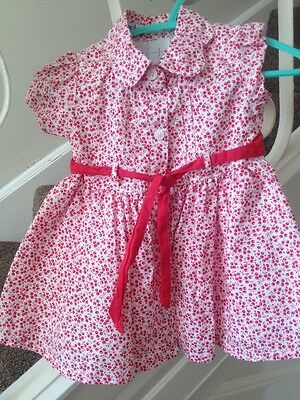 Baby Girls Jasper Conran Dress Age 3-6 Months - Worn Once!
