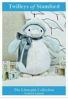 Twilleys KNITTING KIT to KNIT ROCKY PERCY PENGUIN. CUTE GIFT IDEA