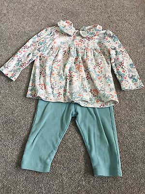 Beautiful Marks & Spencer's Girls Outfit 9-12 Months Spring Summer