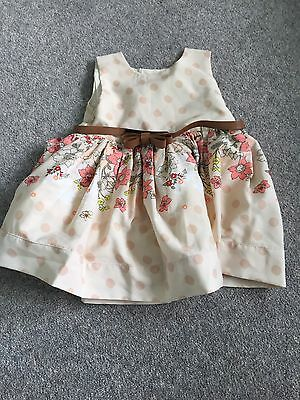 Baby Girls Pretty Party Occasion Dress 3-6months