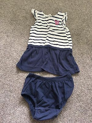 Gap Baby Girls Dress And Pants 3-6 Months