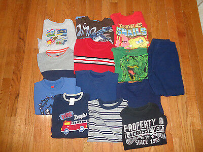 13 Piece Lot of Boy's Winter Play Clothes - Size 5/6/7