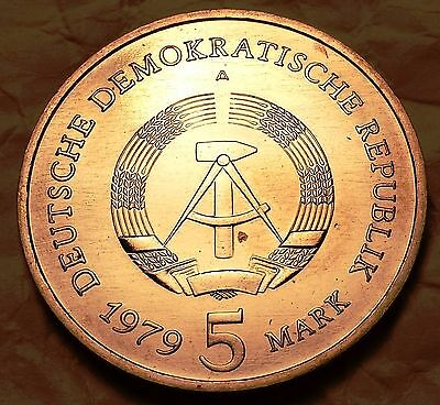 1979-A German Democratic Republic 5 Mark KM# 29
