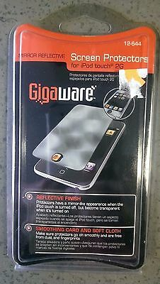 Gigaware Mirror Screen protectors for iPod Touch 2G 12-644 NEW