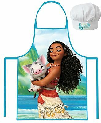 Disney Moana Apron and Chefs Hats Set By BestTrend