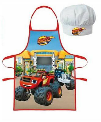 Blaze and the Monster Machines Apron and Chefs Hats Set By BestTrend