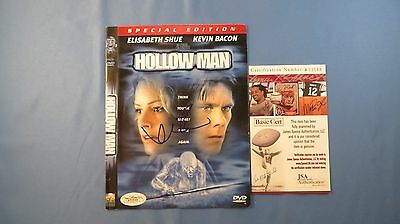 Kevin Bacon Signed Hollow Man DVD Cover JSA COA Autograph #A33548