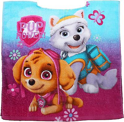 Paw Patrol Girls Childrens Sky Pink Poncho