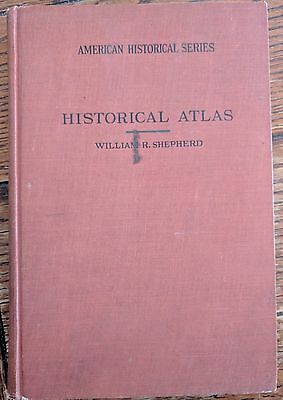 Historical Atlas 1927 by William Shepherd, Full Color Maps