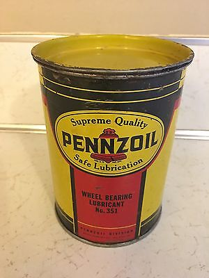 Vintage Pennzoil Lubricant Can