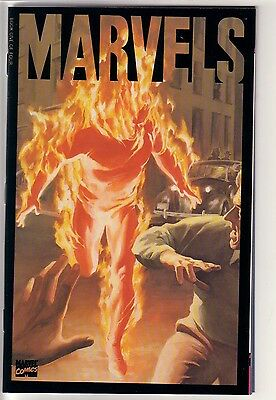 Marvels Lot Of 4 Issues 0,1,2,3 Alex Ross