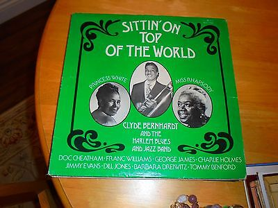 Lp/ Clyde Berhardt & Harlem Jazz &blues Band /sittin On Top Of The World (1976 U
