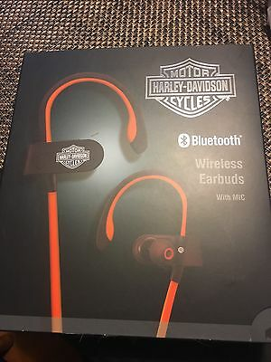 New 2017 Harley Davidson Motorcycle Bluetooth Wireless Earbuds
