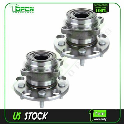 Pair Of 2 New Rear Wheel Hub And Bearing Assembly For Lexus IS F IS250 2006-2013