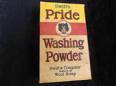 Antique Old Vintage Collectible Washing Powder Laundry Detergent Advertising Box