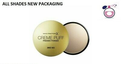 Max Factor Creme Puff Compact Powder - All Shades - Free Fast Shipping