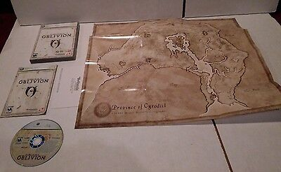 ELDER SCROLLS IV: Oblivion (PC, 2006) Used w/ Map - $37.51 ... on elder scrolls map, forza 2 map, thief 4 map, dragon mountain map, morrowind map, kingdoms of amalur map, tales of vesperia map, divinity ii map, the lego movie map, fable 2 map, knights of the nine map, far cry 2 map, the hunger games map, snowpiercer map, daggerfall map, fortress map, skyrim map, dark skies map, the reckoning map,