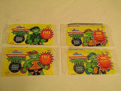 Hostess TMNT Ninja Pudding Pie Wrappers