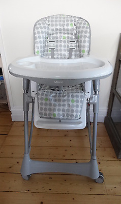 Steelcraft 'milano' Hi-Lo Highchair - Excellent Pre Loved Condition  Rarely Used