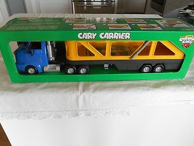 Collector Chevron Cars Cary Carrier.  New In Box
