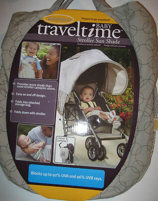 New Infantino STROLLER SUN SHADE Baby Traveltime for umbrella strollers