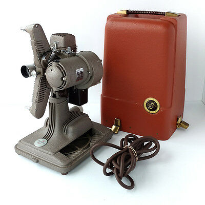 Revere Camera Model 85 Vintage 8mm Film Projector w/ Case 1942 Working Made USA